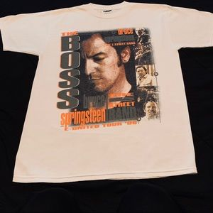 BRICE SPRINGSTEEN 1999 UNITED TOUR SIZE LARGE!